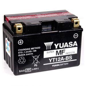 Yuasa Batterie moto YT12A-BS