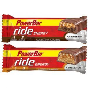Powerbar Bars énergétique Ride Box 18u Peanut/caramel