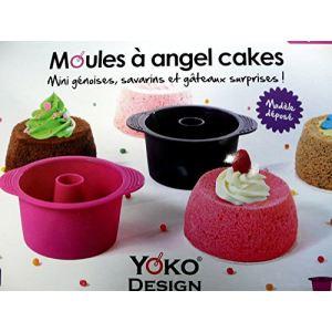 Yoko Design 1258 - Moule à angel cake en silicone et platinum
