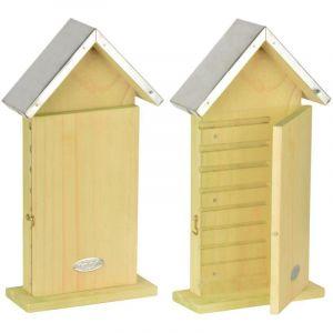 Best for Birds Abri & Observatoire à abeilles Bois de pin, Zinc et Verre plexi