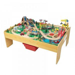 KidKraft Ensemble table et train en bois Adventure Town
