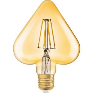 Osram Vintage 1906 LED E27 Heart 4.5W 825 Dorée | Substitut 40W