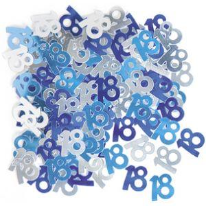 Unique Industries Inc Confettis de table 18 ans
