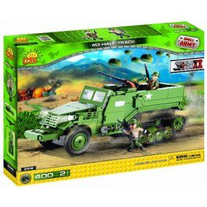 Cobi 2441 - Small Army M3 Half-track 400 pièces