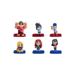 Bandai Coffret 6 Figurines - Les Mondes De Ralph 2.0