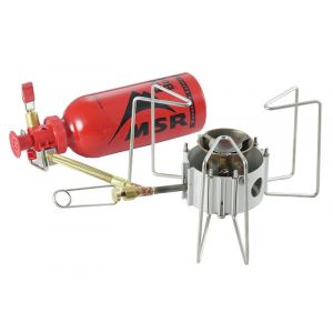MSR DragonFly - Réchaud multicombustible - gris rechaud multi combustibles
