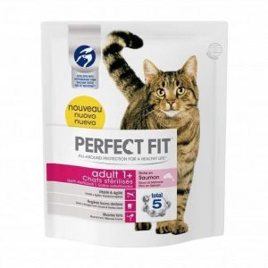 Perfect fit Croquette pour chat stérilisé au saumon 400 g