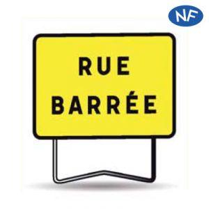 Taliaplast 525616 - Panneau indication rue barrée kc1 800x600mm t1
