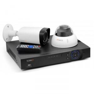Technaxx TX-50 - Pack de surveillance intérieur et extérieur
