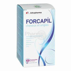 Arkopharma Forcapil - Complément alimentaire cheveux et ongles (180 gélules)
