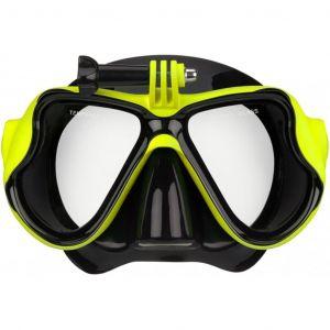 Waimea Masque de plongée avec option de caméra Silicone 88DT-ZWG-Uni