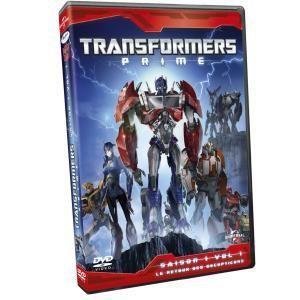 Transformers Prime - Saison 1 / Volume 1 : Le Reour des Decepticons
