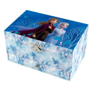 Trousselier Grande boîte à bijoux musicale La Reine des Neiges 2 (Frozen 2)