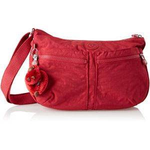 Kipling Izellah, Sacs bandoulière femme, Rouge