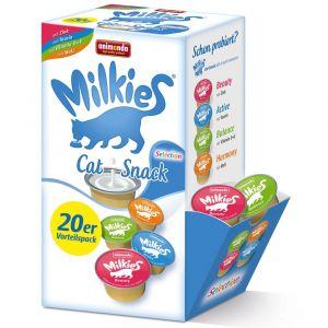 Animonda 20x15g Milkies sans céréales pour chat, - Friandises pour Chat