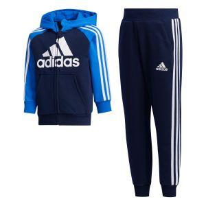 Adidas Survêtement Lk b Ft Bleus - Taille 5-6 Ans