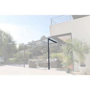 Image de Pied pour extension autoportante aluminium Azura gris