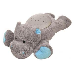 cloud.b Veilleuse Hippo en peluche