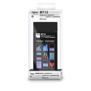 Bigben BT12 - Enceinte Bluetooth 3.0 avec effets lumineux