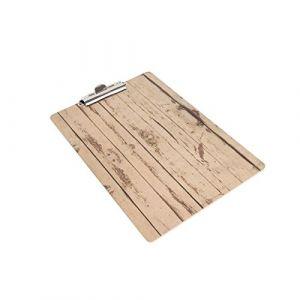 Olympia Effet bois A5Menu Présentation Clipboard 240x 160mm de cuisine salle à manger Table