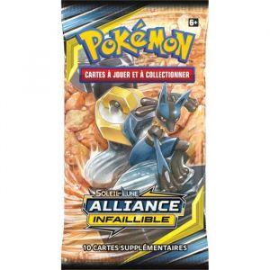 Asmodée POKEMON Soleil et Lune 10 - Alliance infaillible - Booster SL10 - 10 cartes Pokémon - Modèle aléatoire