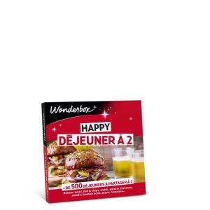 Wonderbox Coffret Cadeau Happy Déjeuner à 2
