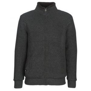 Quiksilver Boketto - Pull col montant zippé doublé en sherpa pour Homme - Noir