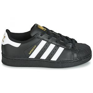 Adidas Chaussures enfant SUPERSTAR C Noir - Taille 28,29,30,31,32,34,35,33 1/2,27 1/2,30 1/2,28 1/2