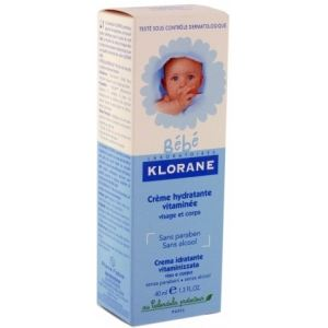Klorane Bébé Crème hydratante vitaminée - 40 ml