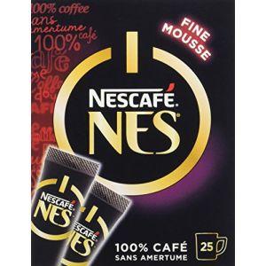 Nescafe NesCafé NES - Café Soluble - Boîte de 25 Sticks