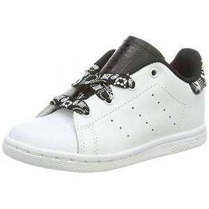 Adidas Stan Smith Bandana Noir Et Blanc Bébé 22 Baskets