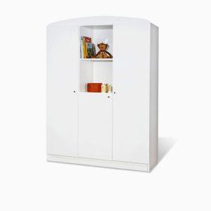 Pinolino 140090G - Armoire 3 portes Jil 135 x 190 x 53 cm
