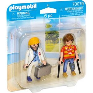 Playmobil 70079 - Médecin Et Patient