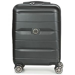 Delsey Valise cabine rigide Comete Slim 55 cm Noir