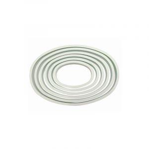 PME Set 6 emporte pièces oval