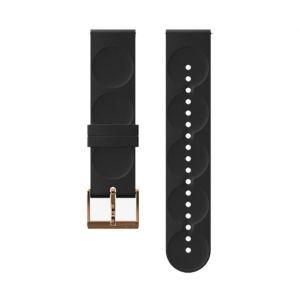 Suunto Pièces détachées Urban 1 Silicone 20mm S Strap - Black / Copper - Taille One Size