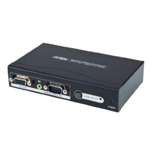Aten VE200 - Système d'extension audio-vidéo VGA par câble de catégorie 5e/6  avec RS-232 (200 m)