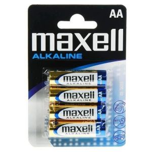 Maxell Pile AA LR06 Alcaline Blister de 4