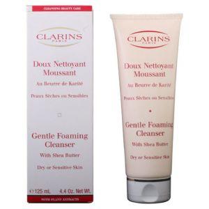 Clarins Doux Nettoyant - Moussant au beurre de karité peaux sèches ou sensibles