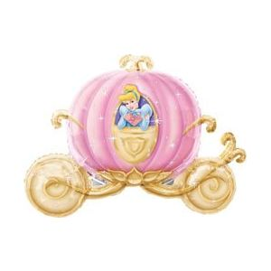 Ballon carrosse Cendrillon