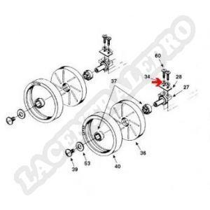 Procopi 1001002 - Rondelle d'axe de petite roue Polaris 180-280