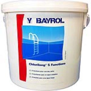 Bayrol Chlorilong 5 fonctions 5 kg - Chlore en galets