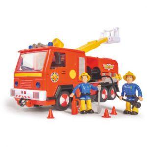 Simba Toys Camion de pompier Jupiter 2.0, 2 figurines