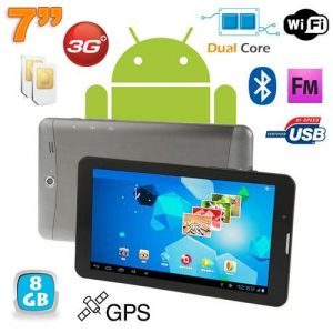 """Yonis Tablette tactile 7"""" 8 Go Dual core Android 4.0 3G GPS"""