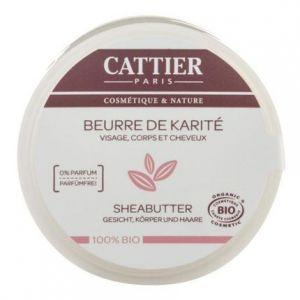 Cattier Beurre de karité 100% bio