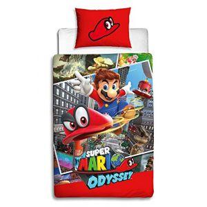 Character World Mario Cappy Duvet Set - Single
