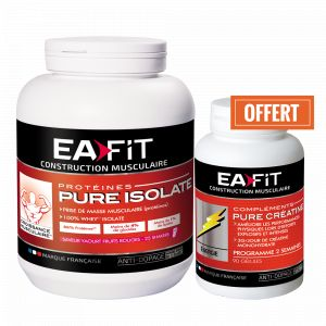 EA Fit Pure Isolate Fruits Rouges 750 g