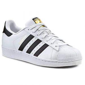 Image de Adidas Superstar chaussures blanc noir 47 1/3 EU