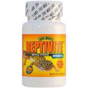 Zoo Med Reptivite sans D3 Hygiène pour Reptiles 57 g