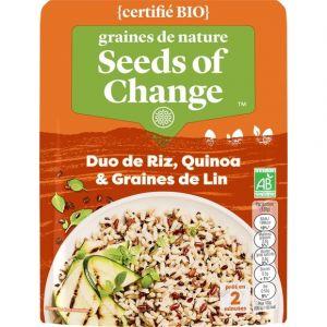 Seeds of Change Duo de riz, quinoa et graines de lin